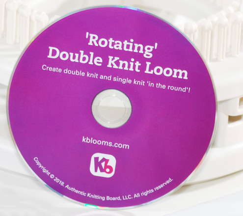 Sock Loom Basics Dvd Learn Knitting Socks On A Loom