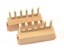 "6 Peg Sliders (7/16"" gauge) for 28""Loom and 38"" Loom with plastic pegs"