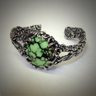 Natural Tibetan Turquoise Bracelet