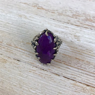 Natural Sugilite Ring