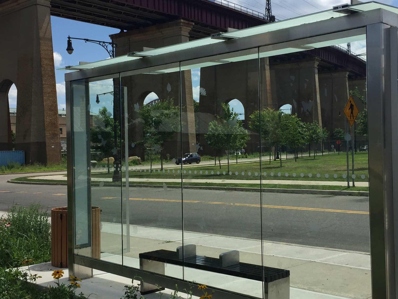Randall's Island Park Bus Stop, New York