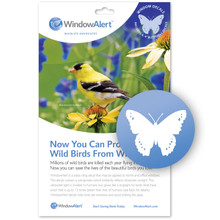 Butterfly Decal Envelope - 4 decal pack