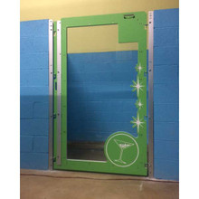 Custom Dog Kennel door.