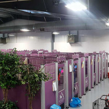 Signature Series Dog Kennels installed.