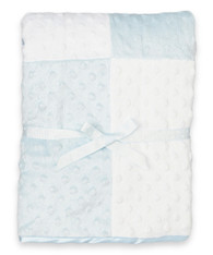 Raised Dot Blanket, Blue