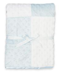 Raised Dot Blanket, Blue