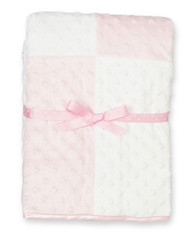 Raised Dot Blanket, Pink