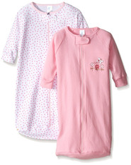 2 Pack Sleep Bag Sack, Pink