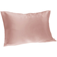 Spasilk 100% Silk Pillowcase, Standard/Queen, Blush