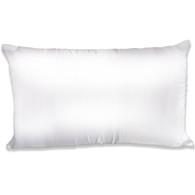 Spasilk Satin Pillowcase, King Size, White