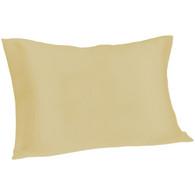 Spasilk Satin Pillowcase, Queen, Champagne