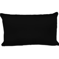Spasilk Satin Pillowcase, King Size, Black