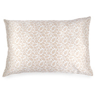 Spasilk 100% Silk Pillowcase, Standard/Queen, Grey Paisley