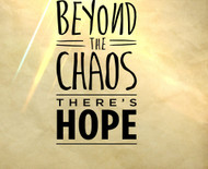 Beyond the Chaos There's Hope (Overcoming Disappointment)-MP3