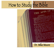 How To Study The Bible-MP3