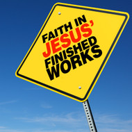 Faith in Jesus' Finished Works-MP3