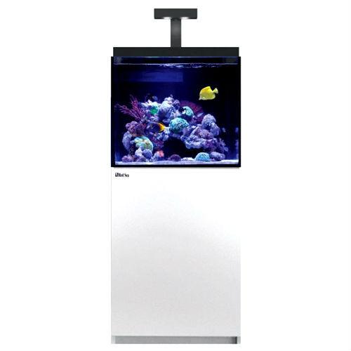 max e 170 43 gallon white complete reef system red sea