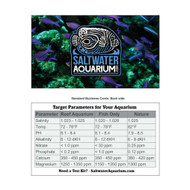 SaltwaterAquarium.com Tank Parameter Reference Card (Free with Any Order)