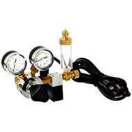 CO2 Regulator Includes Solinoid & Bubble Counter MA957 - Milwaukee Instruments