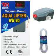 Aqua-Lifter Dosing Pump AW-20 & 25 Feet Of Flexible Air Line Tubing - Tom Aquatics