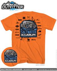 SaltwaterAquarium.com 2016/2017 MACNA TShirt Black Logo - SaltwaterAquarium