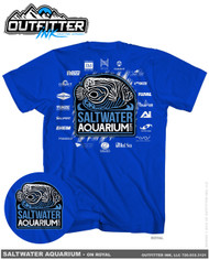 SaltwaterAquarium.com 2016/2017 MACNA TShirt White Logo - SaltwaterAquarium