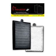 PFE-4RCI Replacement Filter Inserts with Activated Carbon - AquaTop