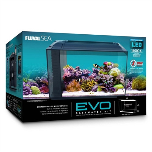evo aquarium kit 13 5 gallons 22 x 11 5 x 12 5 fluval