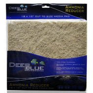 "Ammonia Reducer Filter Pad 18"" x 10"" - Deep Blue"