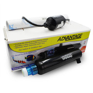 Advantage 2000 Inline Sterilizer 8 Watt - Aqua Ultraviolet