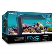 "Evo Aquarium Complete Kit 13.5 Gallons (20.5"" x 11.6"" x 7.5"") w/Skimmer & Heater - Fluval"