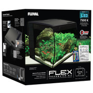 "FLEX 34L 9 Gallon Aquarium Kit BLACK - (14"" x 13"" x 13"")  - Fluval"
