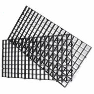 "Modular Black Egg Crate For Aquariums 6"" x 12"" Rectangle - Generic"