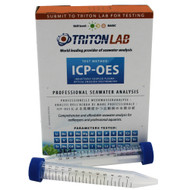 Triton Labs ICP-OES Water Test- (Coral Colors Special Price) - Saltwater Reef Testing Kit
