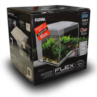 "FLEX 34L 9 Gallon Aquarium Kit WHITE - (14"" x 13"" x 13"")  - Fluval"