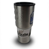 Stainless 32 oz SaltwaterAquarium Grizzly Grip Cup (FREE OVER $500)  - Grizzly