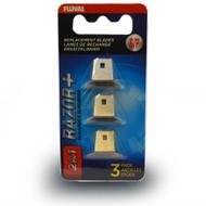Razor+ 2-in-1 Scraper Small 3 Pack Replacement Blades - Fluval
