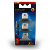 Razor+ 2-in-1 Scraper Medium 3 Pack Replacement Blades - Fluval