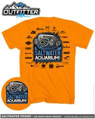 SaltwaterAquarium.com 2017/2018 MACNA TShirt Black Logo (FREE Over $100) - SaltwaterAquarium