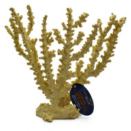 "12.5"" Black Octopus Coral, Coral Concepts Replicorals - Deep Blue"
