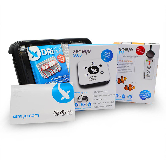 seneye reef kit w wifi dri box aquarium monitor seneye
