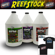 Fritz RPM Liquid Elements Combo Pack (MG, Alk, CA) (3x Gal) FREE Reefstock 2018 TSHIRT - Fritz