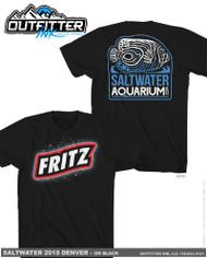 Fritz Reefstock 2018 Promo Logo TShirt Black (FREE Over $50) - SaltwaterAquarium