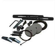AI Single Light Hanging Kit Black - AquaIllumination (Black Hydra Brackets Included)