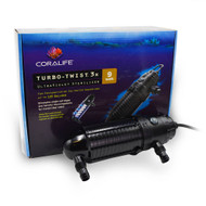 Turbo Twist 3X UltraViolet Sterilizer 9W (125 gal) - Coralife
