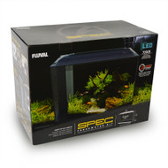 """Spec V 16 Gallon Freshwater Aquarium Kit (21.8"""" x 17.5"""" x 11.5"""") Black - Fluval"""