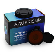 Smartphone Orange Gel Filter Aquarium Photography Lens - AquariClip