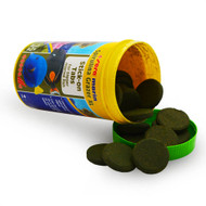 Spirulina Algae Grazer XL Rings (4.2 oz) ~ 50 Tablets - Sera