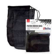 "2 Pack - Reusable Black Mesh Filter Media Bag (10"" x 5.5"") - Red Sea"