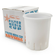 "7"" High Flow Filter Media Cup (CLEAR) - Generic"